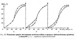 Компенсаторно-приспособительные реакции при гипоксии